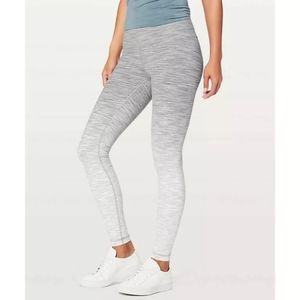LULULEMON wunder under hi-rise tight ombré melange